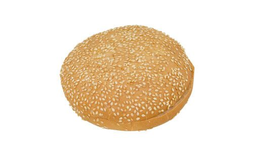 Burgerbolle med sesam
