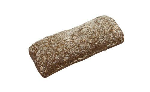Mørkt fuldkornsstykke m/ salt